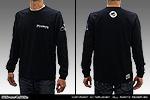 オリジナル ロングTシャツ【ブラック】