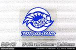 汎用 WirusWin オリジナルステッカー【Dタイプ】